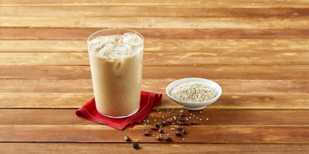 Agua de amaranto y café