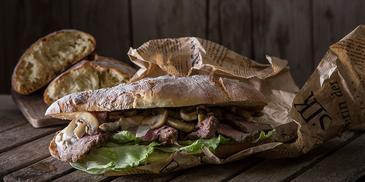 Σάντουιτς με roast beef