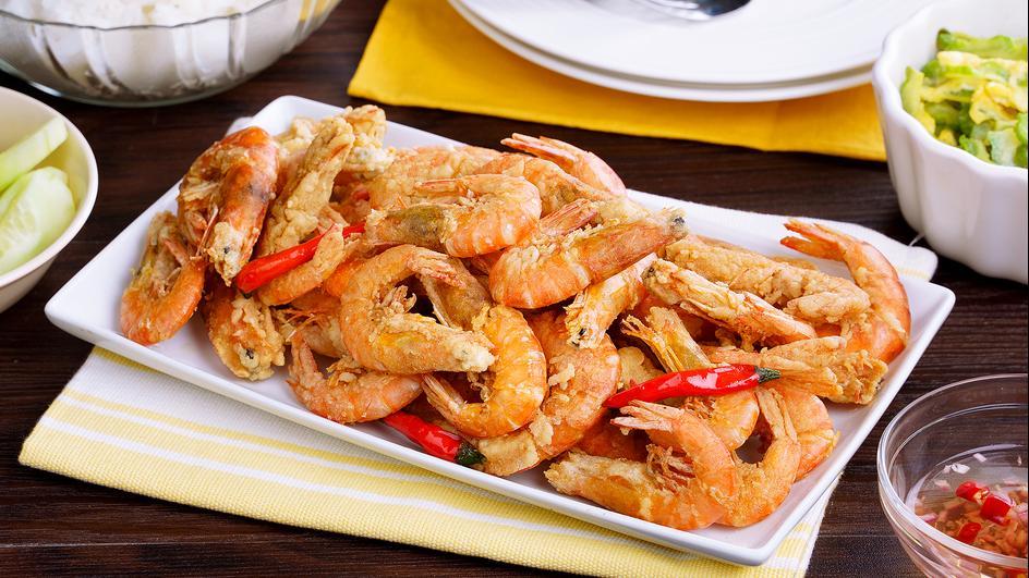 Savorventure Crispy Shrimp
