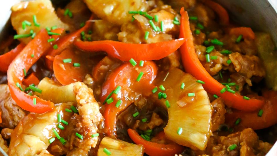 Delicious Sweet and Sour Chicken