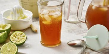 Asiatischer Zitronengras-Eistee