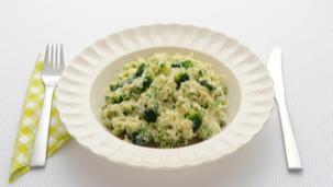 Broccolistamppot met kaas