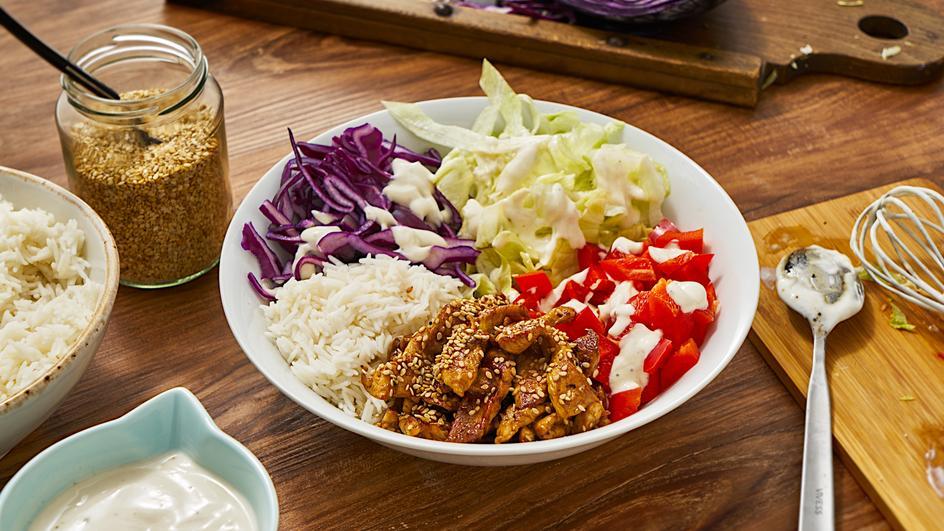 Koreanisches BBQ Hähnchen