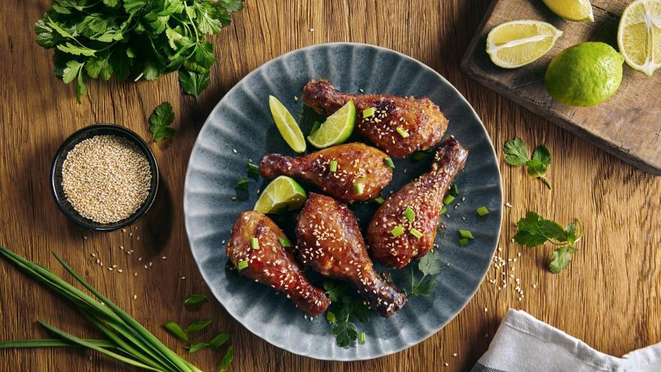 Podudzia z kurczaka w sosie chili