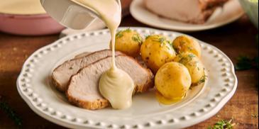 Biały sos do mięsa