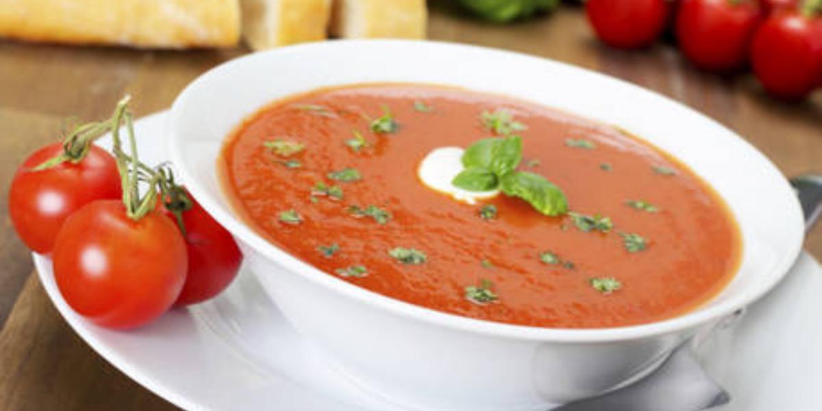 Sopa de tomate y albahaca Boost