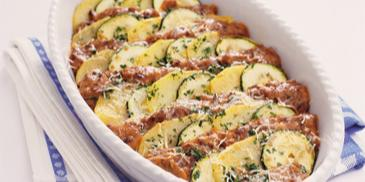 Zucchini-Moussaka mit Hackfleisch