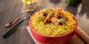 Paneer Taka Tak MAGGI Noodles Recipe