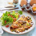 Eiweiß-Omelette