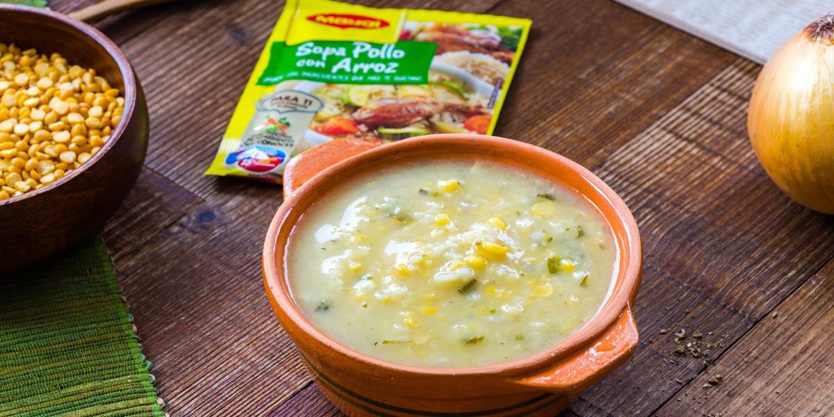Sopa de Arvejas