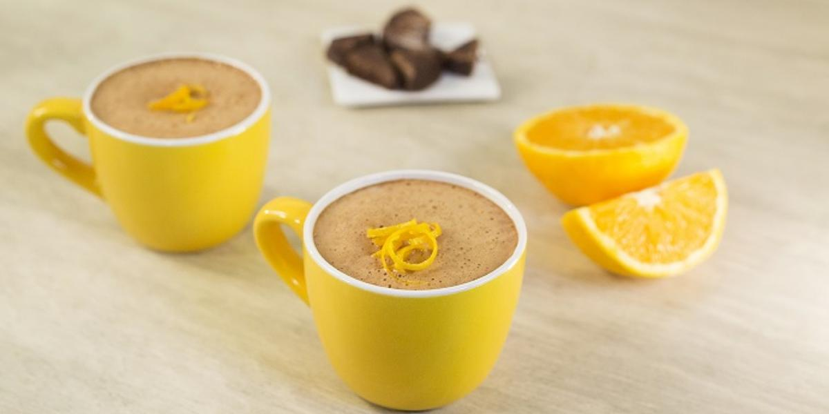 Chocolate abuelita con naranja