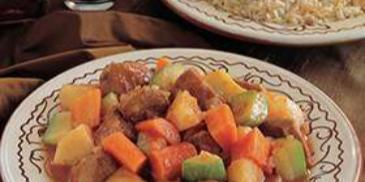 Vegetables with Lamb Stew