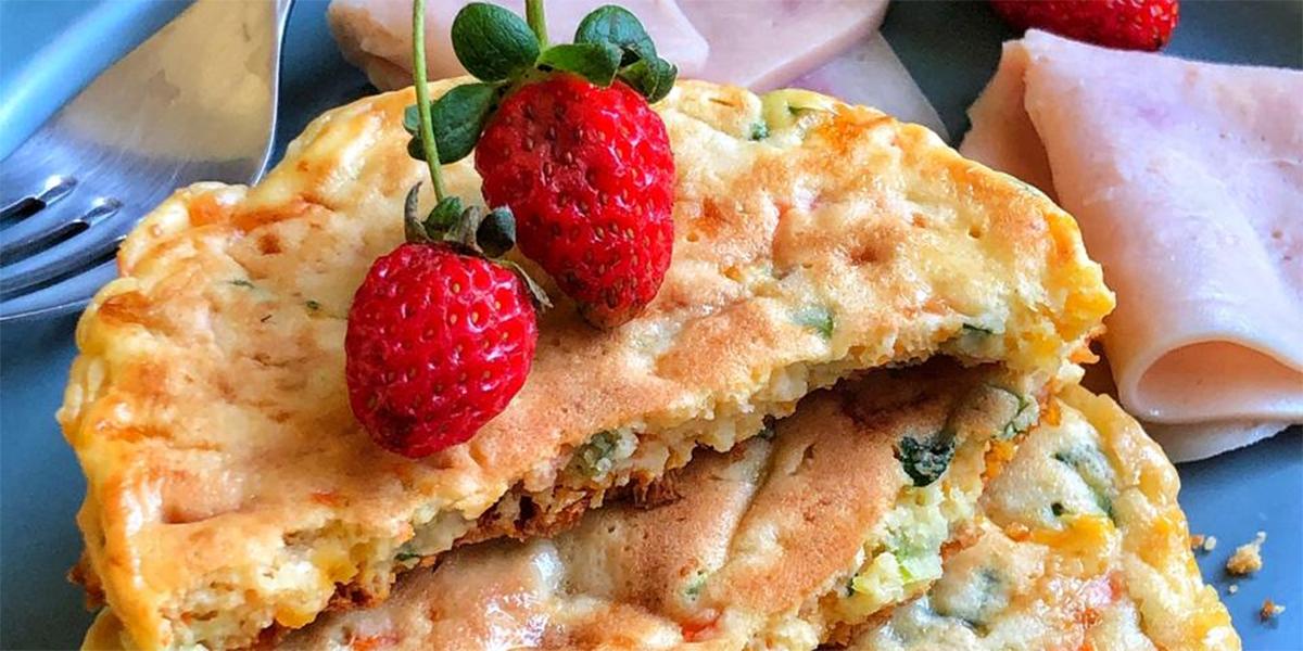 Pancake de Zanahoria y Maíz