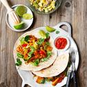 Fajitas mexicaines Vegan