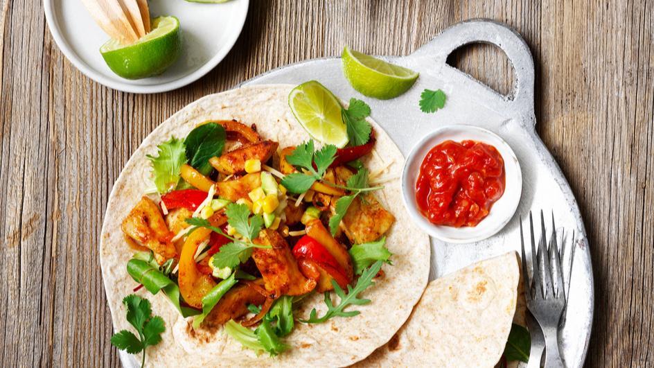 Mexikanische Fajitas vegan