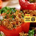 Papryka faszerowana warzywami, ryżem i mięsem
