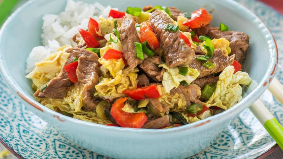 Green Beef Thai Curry