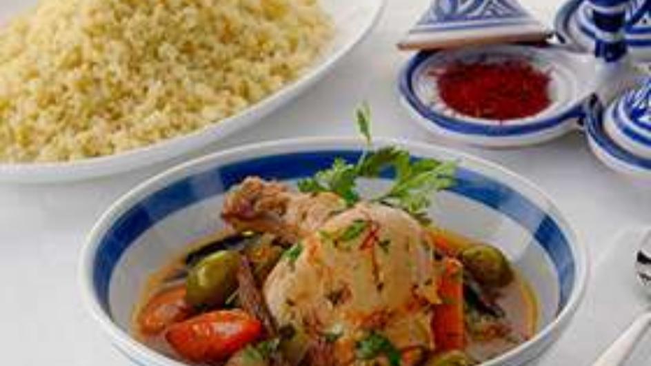 Chicken Tagine Moroccan Style