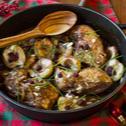 Κοτόπουλο με φιρίκια στην κατσαρόλα