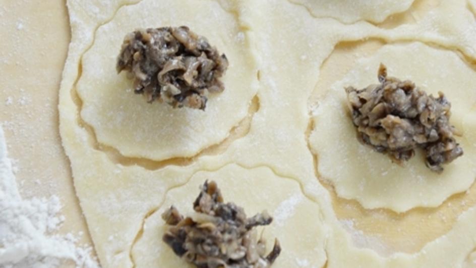 Farsz z suszonych grzybów