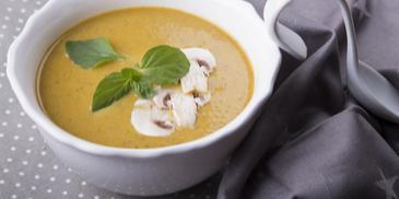 Σούπα κρέμα κολοκύθας