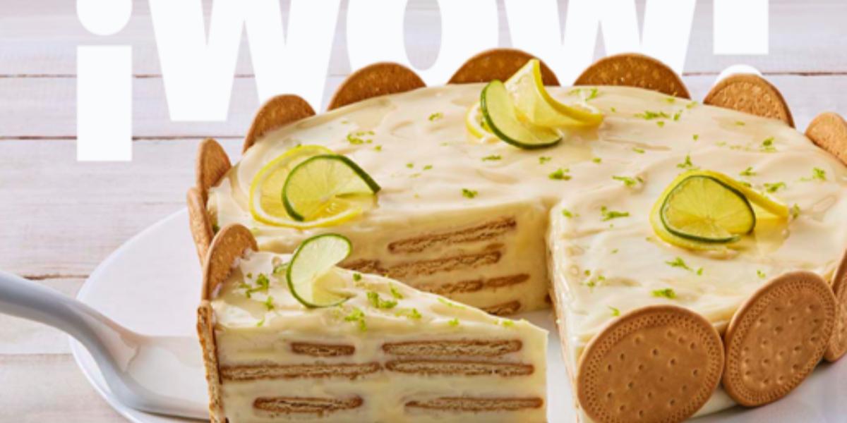 Pastel Carlota De Limón Recetas Nestlé