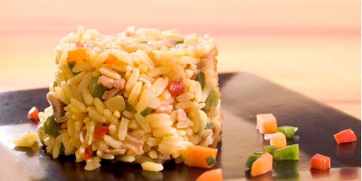 Deliciosa receta saludable de arroz