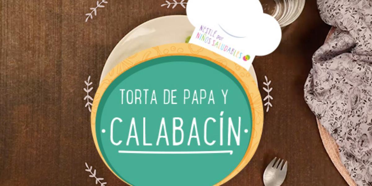 TORTA DE PAPA Y CALABACÍN