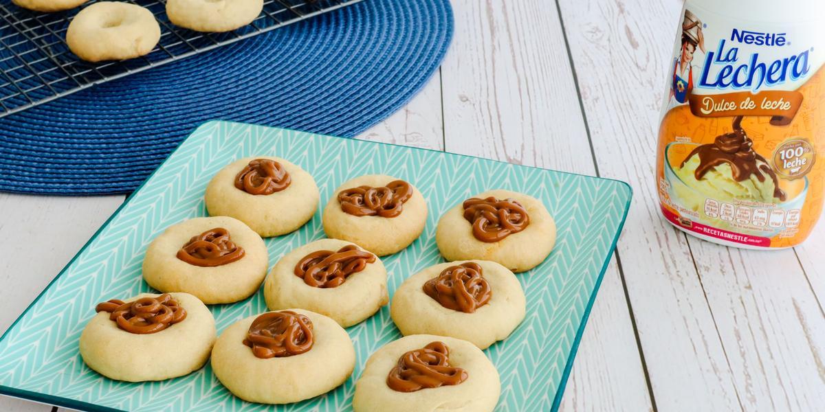 Galletas de Mantequilla con dulce de leche
