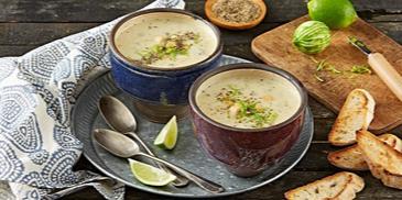Creamy Chicken & Oats Soup
