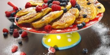 Beeren-Pfannkuchen