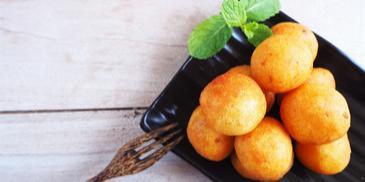 Soya Upma Bonda Recipe