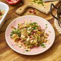 Wintersalat mit Sauerkraut und Granatapfel