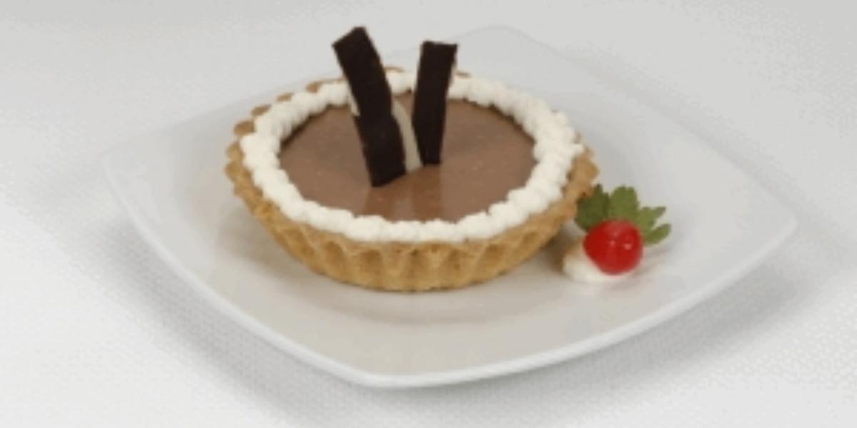 Tartaletas de chocolate