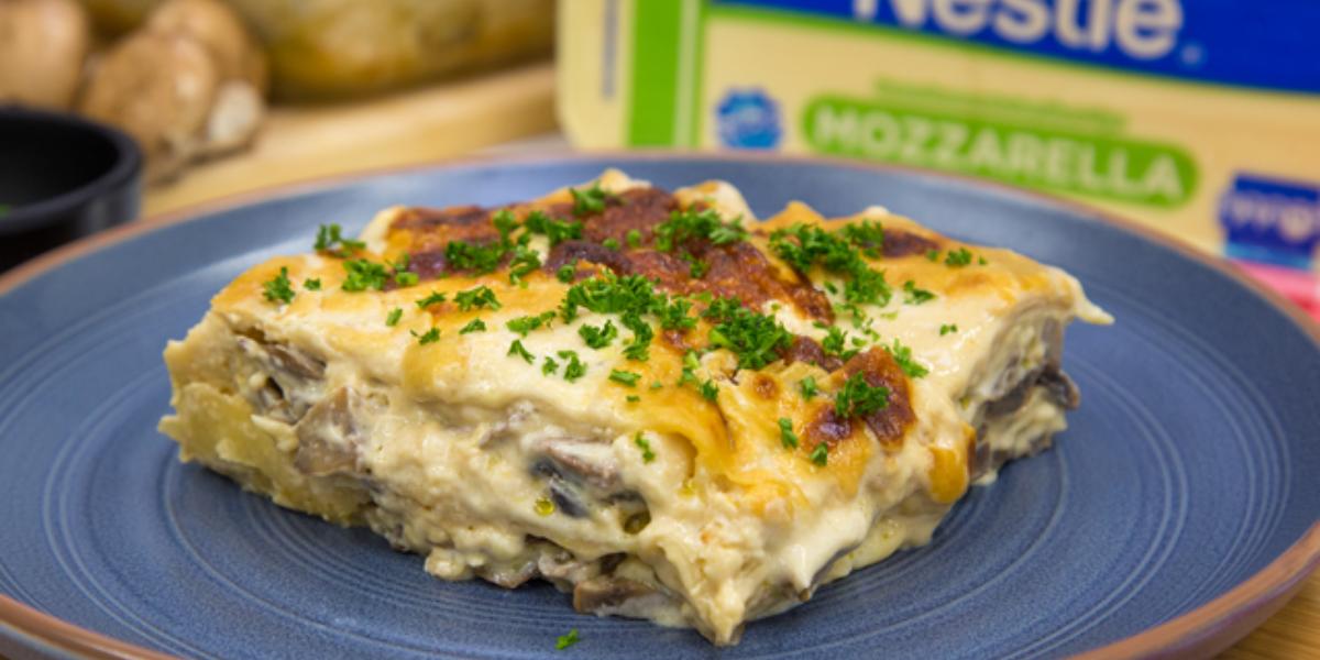 Lasagna de Hongos