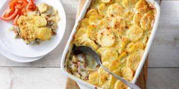 Basisrecept: MAGGI Ovenschotel Witlof-crèmesaus met gehakt