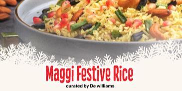 Maggi Festive Rice