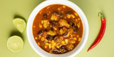 Zupa meksykańska z limonkowym kurczakiem