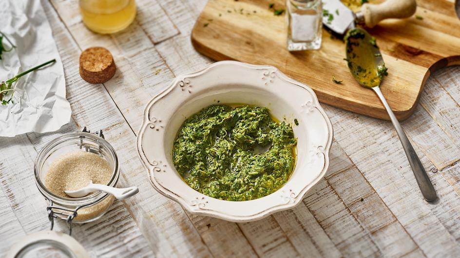 Frankfurter Grüne Soße Vinaigrette