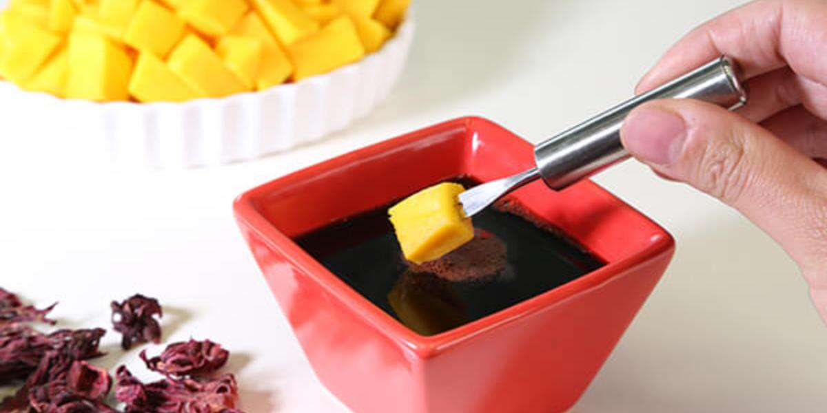 Salsa botonera con jamaica