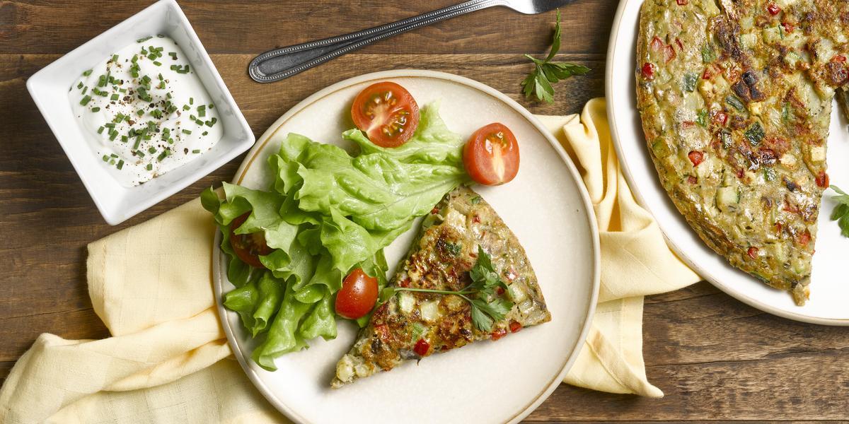 Gratín al Sartén con Mezcla Lista de Quinoa Lentejas