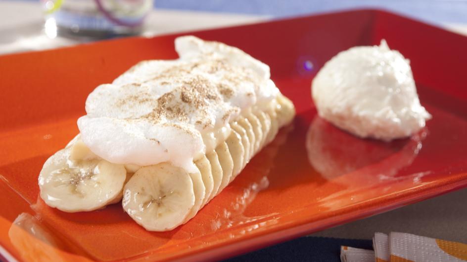 Brasilianische Bananas al forno mit Kokoscreme