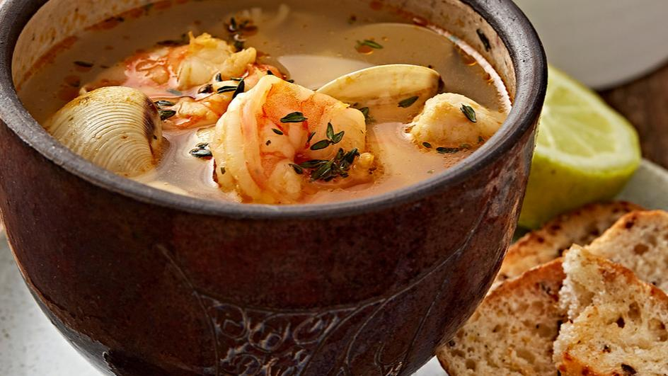Bouillabaisse-French Seafood Soup
