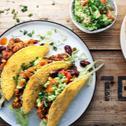 Tacos mit veganer Sensationel Hack Füllung & Guacamole