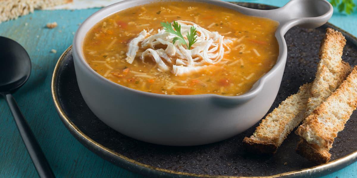 Sopa de quinua Roja