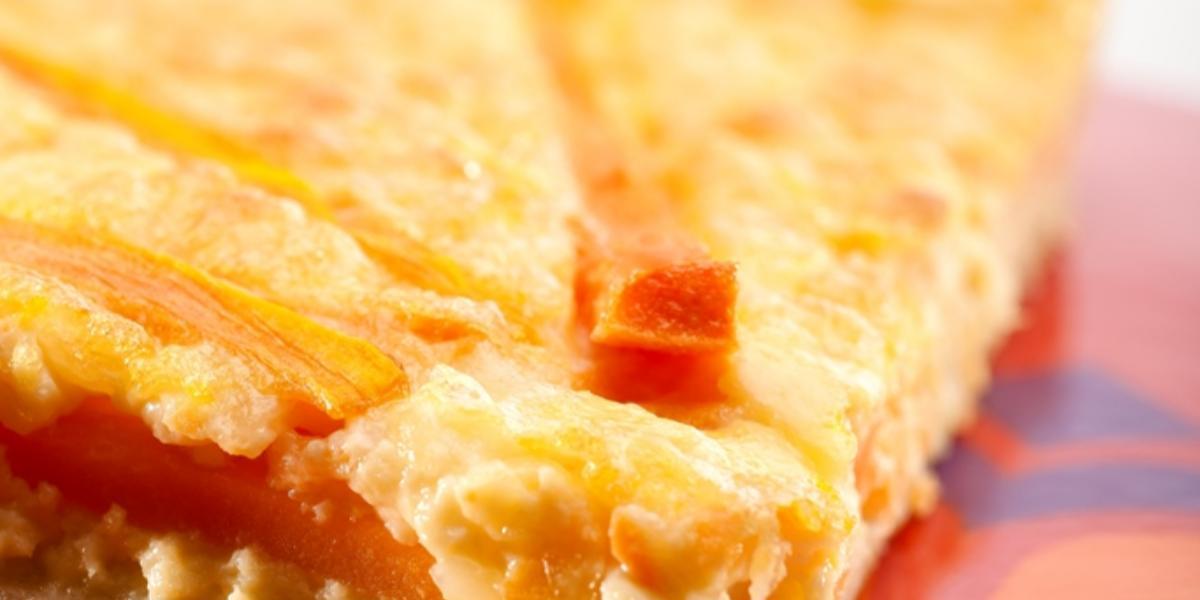 Quiche de zanahoria