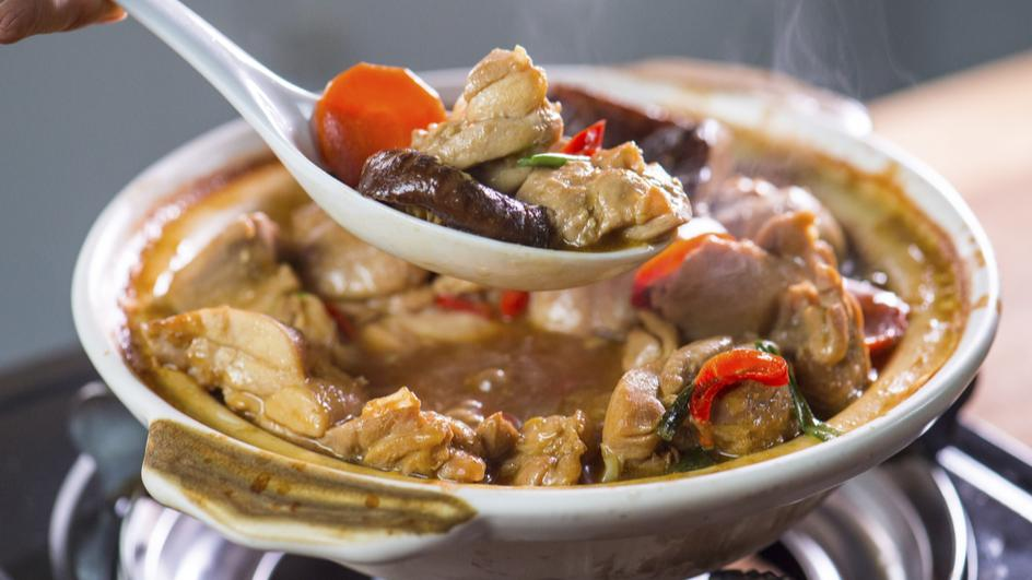 Ayam Claypot Dengan Sos Tiram MAGGI
