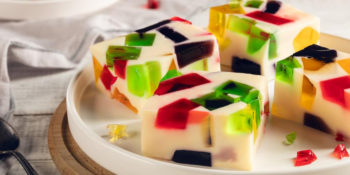 Mosaico de gelatinas