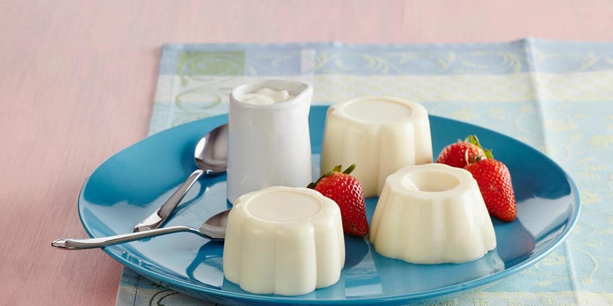 Esponjado de yogurt