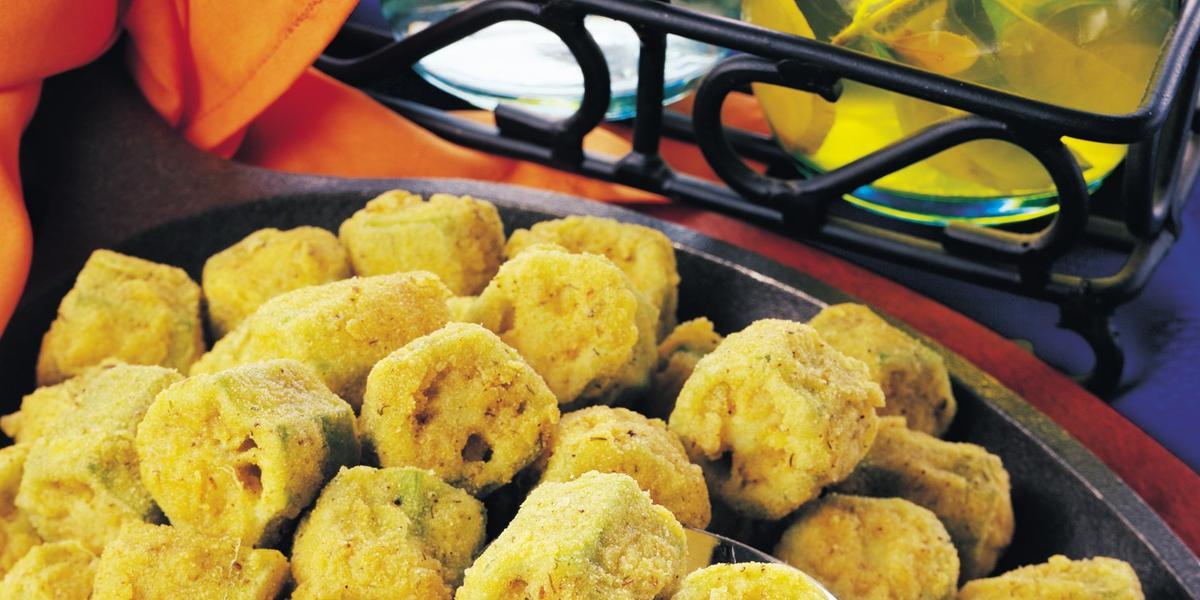 Crispy Fried Ochro